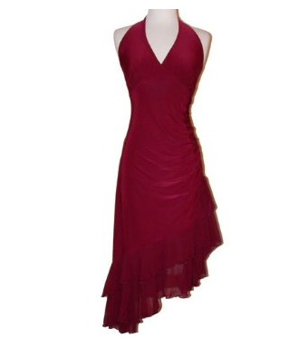 Ruffle Dress on Best Red Dress     Be Alluring In A Red Ruffle Party Dress