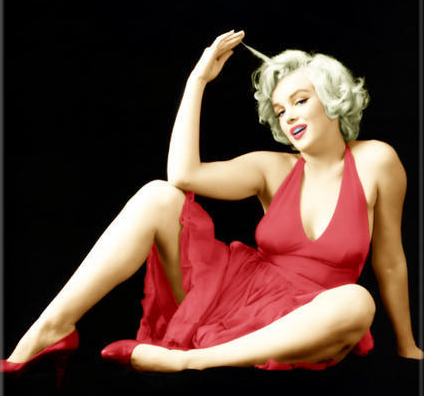 The Best Red Dress Icon – Marilyn Monroe