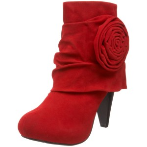 The Best Red Dress Red Dollhouse Mid Calf Boots