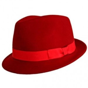 The Best Red Dress Red Fedora Classic Red Fedora