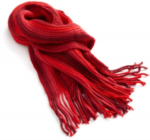 The Best Red Dress Red Scarf by La Fiorentina