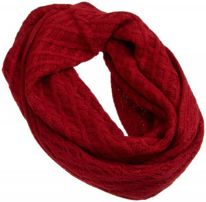 The Best Red Dress Scarf Red Basketweave scarf