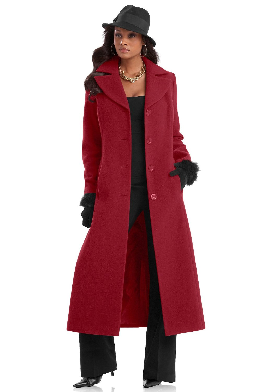The Best Red Dress: Red Winter Coats and Jackets