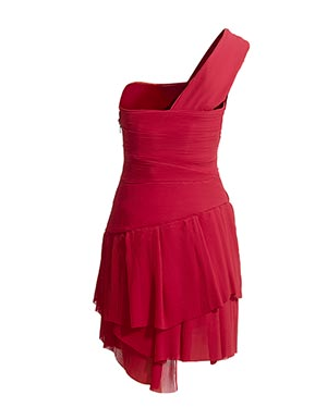Pleated Frill Red Dress Best Red Dress Reiss Online 2