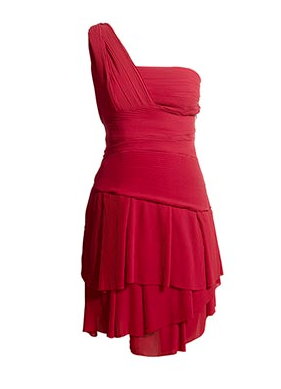 Pleated Frill Red Dress Best Red Dress Reiss Online