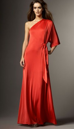 red halston heritage gown best red dress