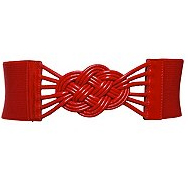 The Best Red Dress Red Knot Belt from Torrid