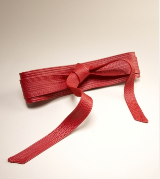 Red Obi Belt The Limited The Best Red Dress
