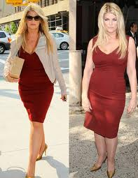 Kirstie Alley in a Best Red Dress after Weight loss