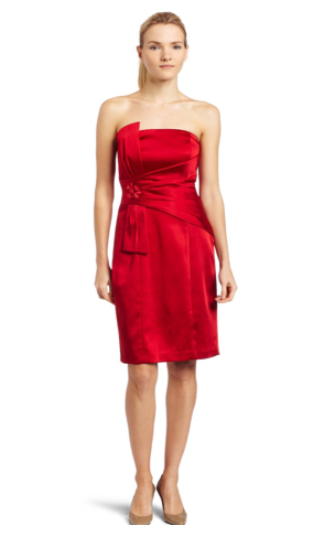The Best Red Dress: Date Night in a Best Red Dress Shoes Purse and Jewelry