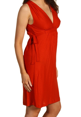 French Connection Red Juicy Jacquard Dress