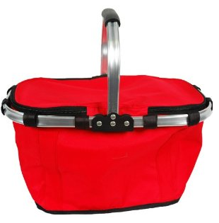 Insulated Beach Picnic Basket Tote The Best Red Dress