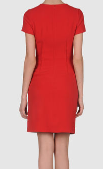 Joseph short dress by Yoox The Best Red Dresses office