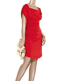 Vivienne Westwood Anglomania Red Dress