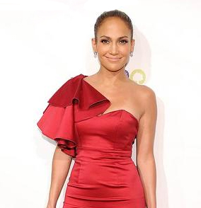 Jennifer Lopez in Temperly of London The Best Red Dress Vixen