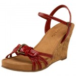 Aerosoles Plush Around Wedge Sandal Shoe The Best Red Shoes