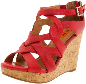 Miz Mooz Wedge Shoe Sandal The Best Red Shoes