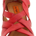 Miz Mooz Red Kaylee Wedge Sandal Shoe The Best Red Dress