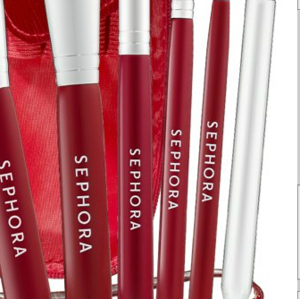 Sephora Travel Clutch Brush Set The Best Red Toolkit
