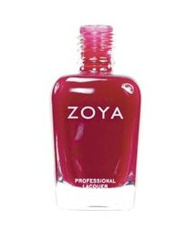The Best Red Nail Polish on The Best Red Dress Zoya