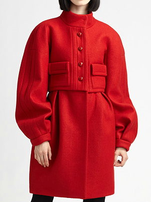 The Best Red Dress features The Best Red Burberry Clothes and Accessories