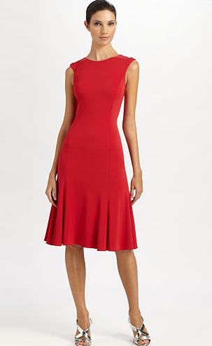 The Best Red Dress Ralph Lauren Black Label Thandie Dress