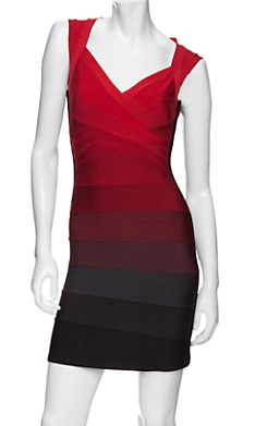The Best Red Herve Leger Bandage Dresses 2