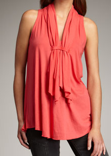 The Best Red Dress Marc by Marc Jacobs Kate Jersey Tank Blouse Top