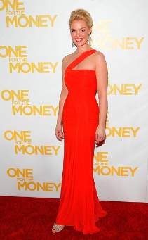 The Best Red Dress Katherine Heigl in a Red Dress