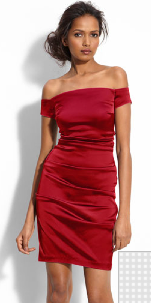 Perfect Red Off Shoulder Dresses on The Best Red Dress