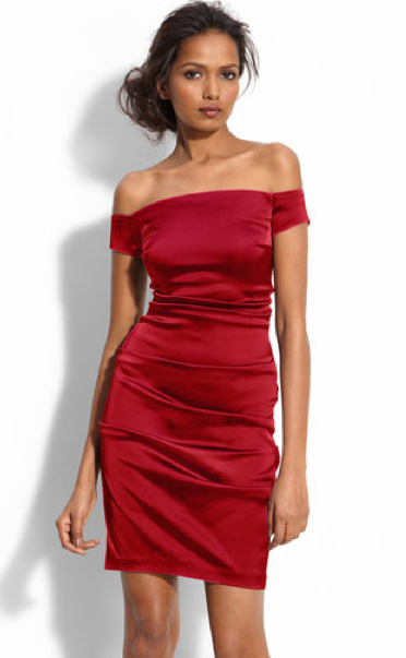 5dadf648548 The Best Red Dress Betsy and Adam Red Off Shoulder Sheath Dress Nordstrom  The Best Red