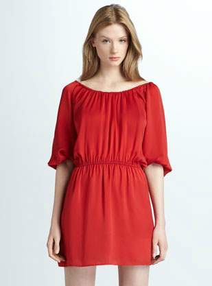 The Best Red Dress Joie Off The Shoulder Red Jersey Dress