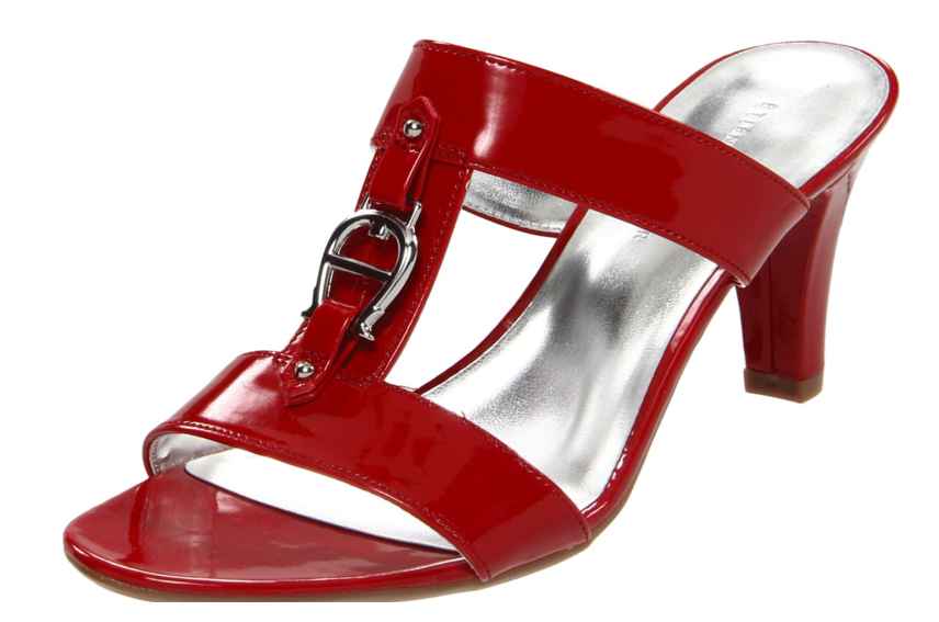 The Best Red Dress Etienne Aigner Red Mile Sandal Shoe on The Best Red Dress