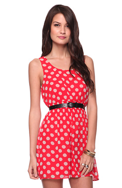 The Best Red Dress Forever 21 Red Polka Dot Dress The Best Red Dress