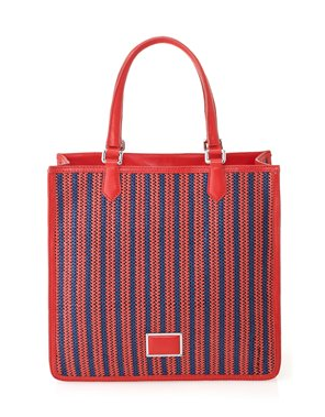 The Best Red Dress Marc Jacobs Red Sami tote on The Best Red Dress.com