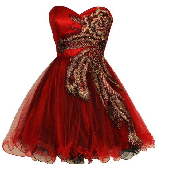 The Best Red Party Dress on The Best Red Dress
