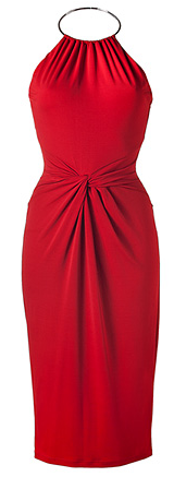 Best Red Dress Michael Kors Crimson Red Halter Dress Best Red Dress
