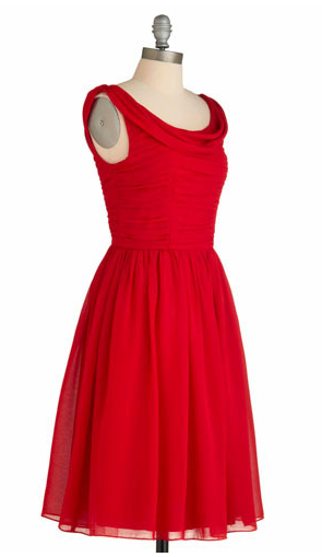 Best Red Dress Mod Cloth Red-y to Dance Red Dress The Best Red Dress