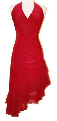 The Best Red Dress Plus Size Red Ruffle Party Cocktail Red Dress