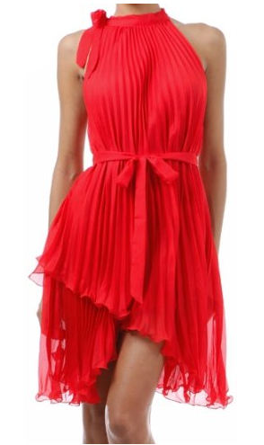 The Best Red Dress Red Asymmetrical Hem Red Sleeveless Dress The Best Red Dress
