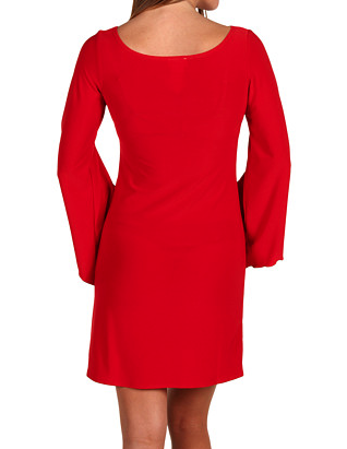 The Best REd Dress Red Gabriella Rocha Kallah Red Lace Dress TheBestRedDress.com