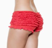 The Best Red Dress Red Ruffle Boyshort Panty The Best Red Dress