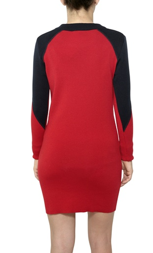 The Best Red Dress Lacoste Star Trek Style Red Sweater Dress The Best Red Dress