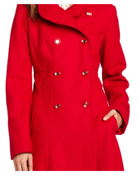 The Best Red Dress Jessica Simpson Double Breasted Corset Coat The Best Red Dress