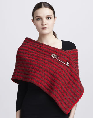 The Best Red Dress Marc Jacobs Red Waffle Knit Scarf The Best Red Dress