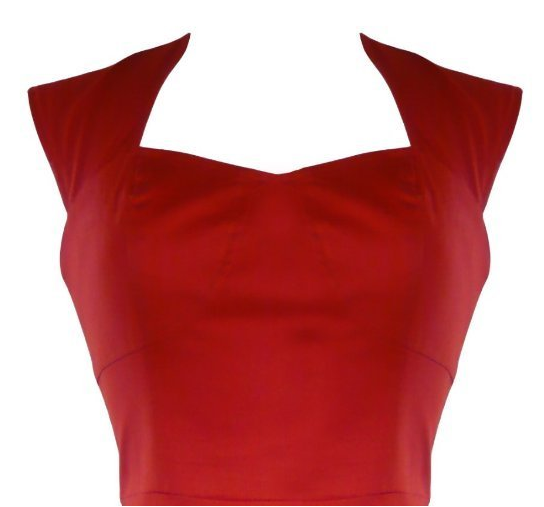 50s Wiggle Pencil Dress The Best Red Dress