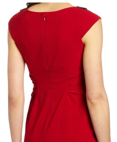 Adrianna Papell Red Rouched Dress The Best Red Dress 3