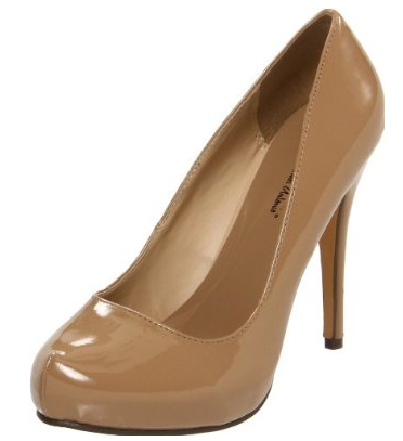 Michael Antonio Pump Nude Shoe The Best Red Dress
