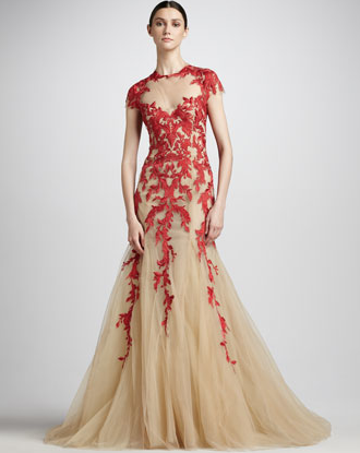 Monique Lhuillier Neiman Marcus Red Ball Gown The Best Red Dress