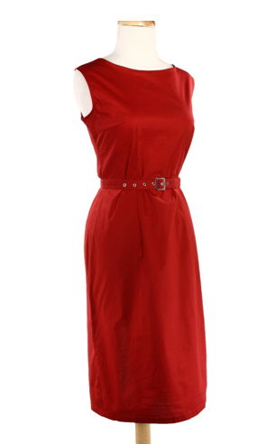 Mad Men Style Red Retro Dress The Best Red Dress